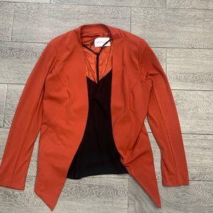 Burnt orange blazer